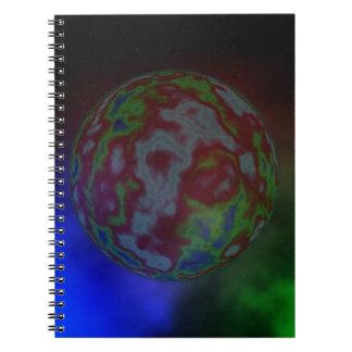 Aura eines Planeten, Notizblock