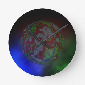 Aura eines Planeten, Runde Wanduhr