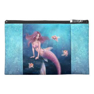 Aurelia Goldfisch-Meerjungfrau-Kunst-Zusatz-Tasche