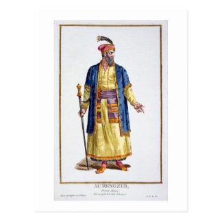 Aurengzeb, großer Khan der mongolischen Horden vom Postkarte