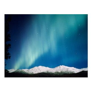 Aurora Borealis, Alaska Postkarte
