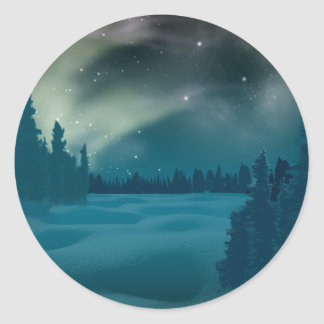 Aurora Borealis Aufkleber