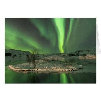 Aurora Borealis Island Karte
