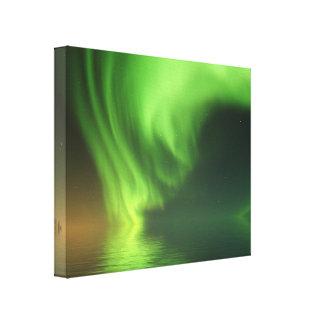 Aurora Borealis Leinwanddruck