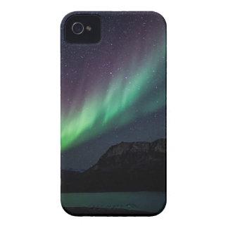 Aurora Borealis nachts iPhone 4 Case-Mate Hüllen