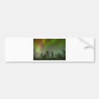 Aurora Borealis Nordlicht-Himmel-Glühen-Schein Autoaufkleber