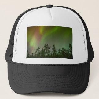 Aurora Borealis Nordlicht-Himmel-Glühen-Schein Truckerkappe