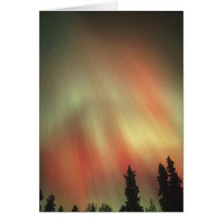 Aurora Borealis, Nordlichter, Fairbanks Karte