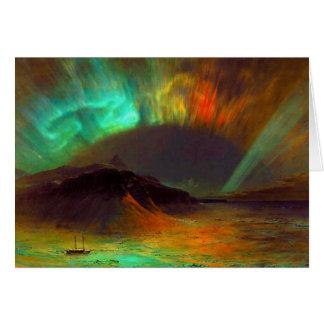 Aurora Borealis, Nordlichter Karte
