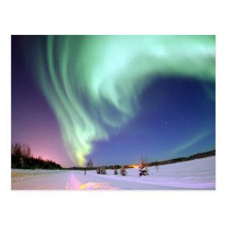 Aurora Borealis Postkarte
