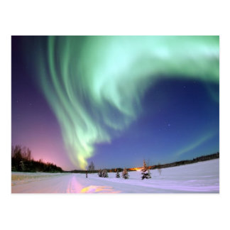 Aurora Borealis Postkarten