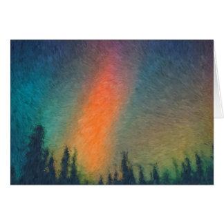 Aurora Borealis Van Gogh Karte