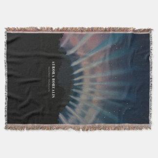 Aurora Borealis Wurfs-Decke Decke