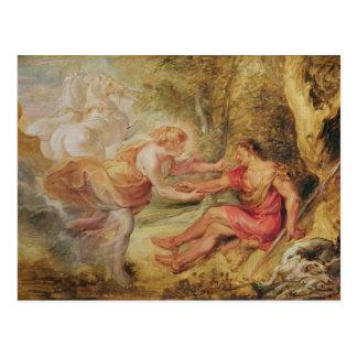 Aurora, die Cephalus, 1636 entführt Postkarte