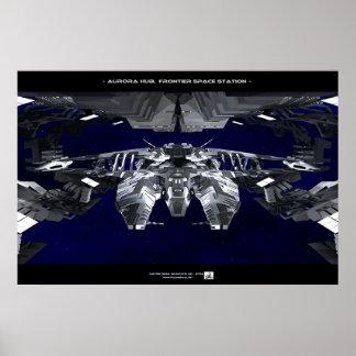 Aurora-Nabe Poster