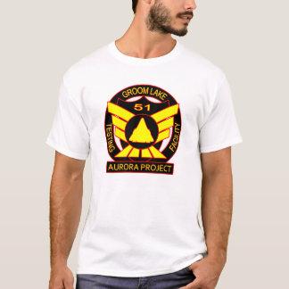 Aurora-Projekt des Bereichs-51 T-Shirt