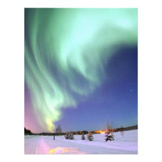 Aurora - schöne Nordlichter Flyer