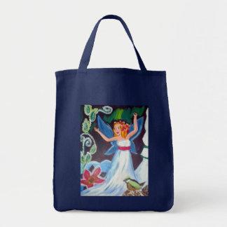 Aurorawinter-Fee-Einkaufstüte Tragetasche