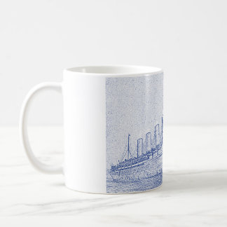 Aus alter Zeit Kreuzfahrt Kaffeetasse