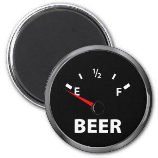 Aus Bier-Kraftstoffanzeige heraus