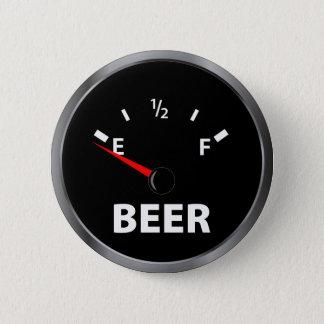 Aus Bier-Kraftstoffanzeige heraus Runder Button 5,7 Cm