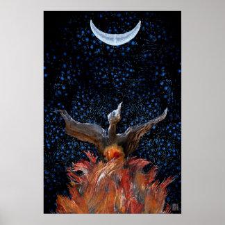 Aus den Flammen heraus: Phoenix steigendes Poster
