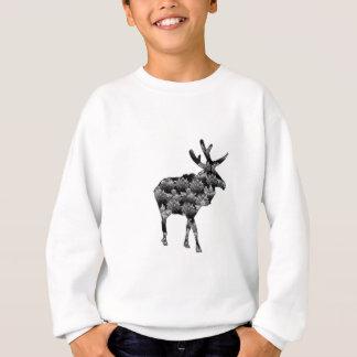 Aus den Holz-Elchen heraus Sweatshirt