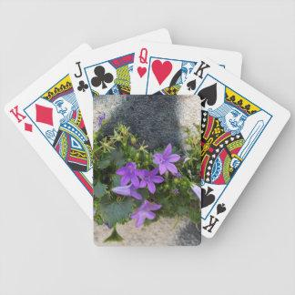 aus der Wand-Blume heraus Bicycle Spielkarten