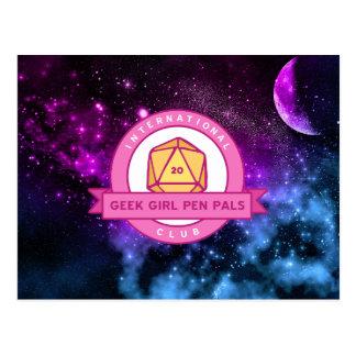 """Aus dieser Welt heraus"" IGGPPC Logo-Postkarte Postkarte"