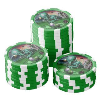 Aus dieser Welt heraus Poker Chip Set