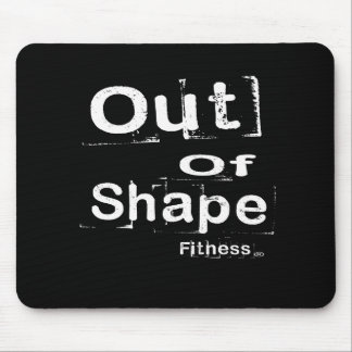 Aus Form-Fitness Mousepad heraus