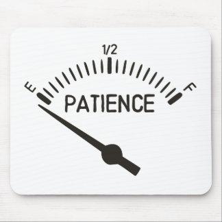 Aus Gedulds-Gas-Messgerät heraus Mousepad
