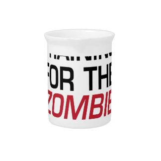 Ausbildung für die Zombie-Apokalypse Getränke Pitcher