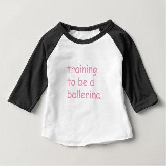 Ausbildung, zum eine Ballerina zu sein Baby T-shirt