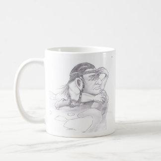 Ausblick Kaffeetasse