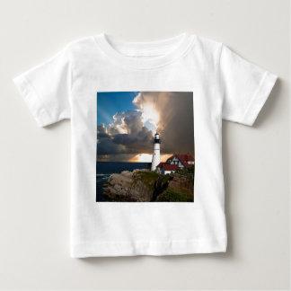 Ausblick-Leuchtturm Baby T-shirt