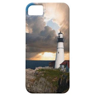 Ausblick-Leuchtturm iPhone 5 Hüllen