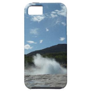 Ausbrechen des Geysirs in Island iPhone 5 Etui