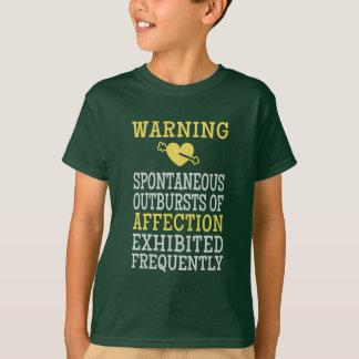 Ausbrüche der Zuneigungs-Shirts u. -jacken T-Shirt