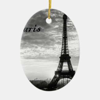 Ausflug Eiffel Paris - Sonnenuntergang in Keramik Ornament