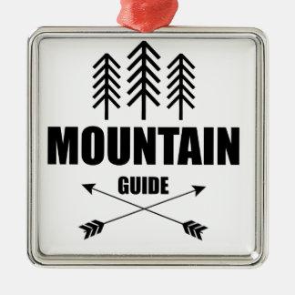 Ausflug und Abenteuer, Gebirgsführer Silbernes Ornament