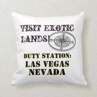 Ausflug US-Ausflug-Stadt-Las Vegass Nevada Kissen