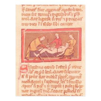 """Ausgabe """"des Buches der Operation"""" durch Rogier de Postkarte"""