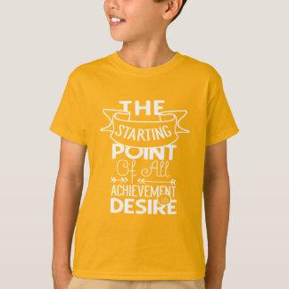 Ausgangspunkt der Leistung ist Wunsch T-Shirt