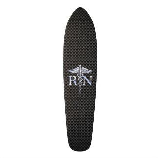 Ausgebildete Krankenschwester RN silberne Skate Board