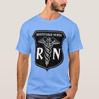 Ausgebildete Krankenschwester RN-T-Shirt mit T-Shirt