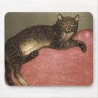 Ausgedehnte Katze auf Sofa - durch Theophile Mousepad
