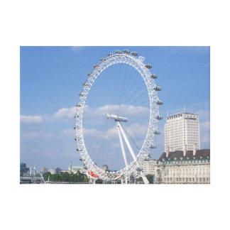 Ausgedehnter Leinwand-Druck Londons Auge Leinwanddruck