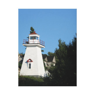 Ausgedehntes Druck-Leinwand Hampton lightouse N.S. Leinwanddruck