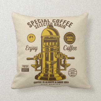 Ausgewählter Kaffee Kissen